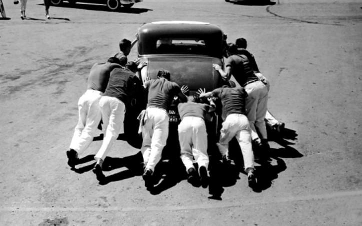 pushing-a-car